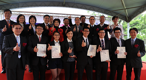 Biotechnology Industry Enters Tunghai Campus to Assist Student Entrepreneurs