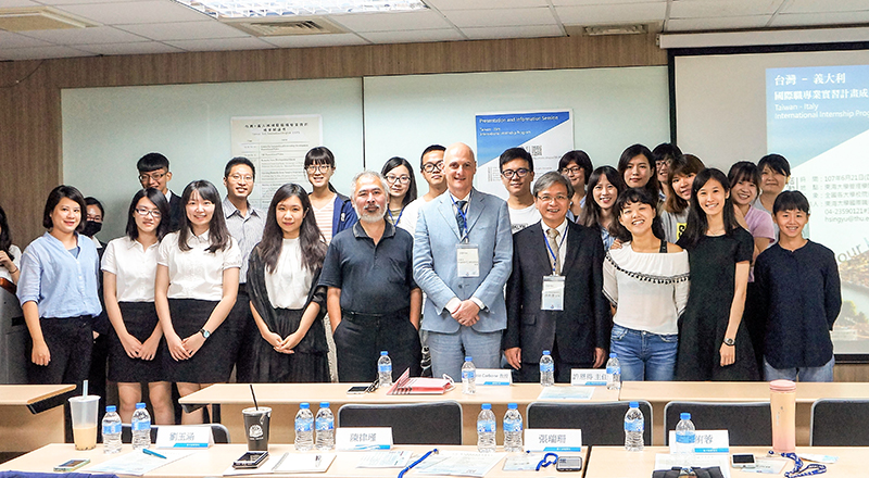 The 8th Taiwan-Italy International Internship Program Presentation