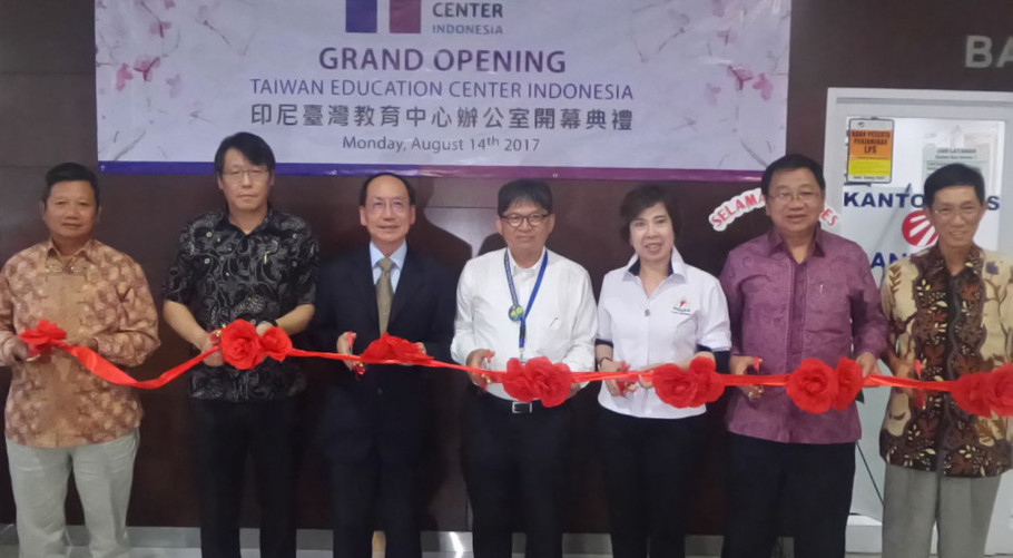 Grand Opening of Indonesia Taiwan Education Center Office in Jarkata