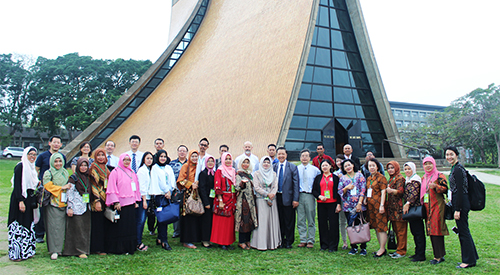 Welcome Filipino Chinese School Visiting Group to Tunghai University