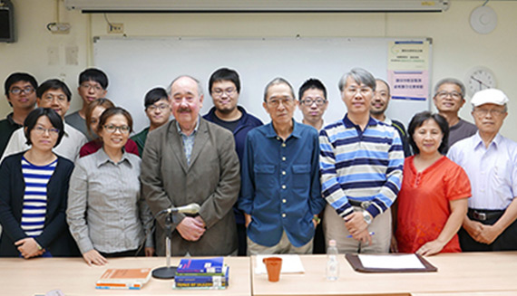 Philosopher Prof. John Sallis Spoke at Tunghai University