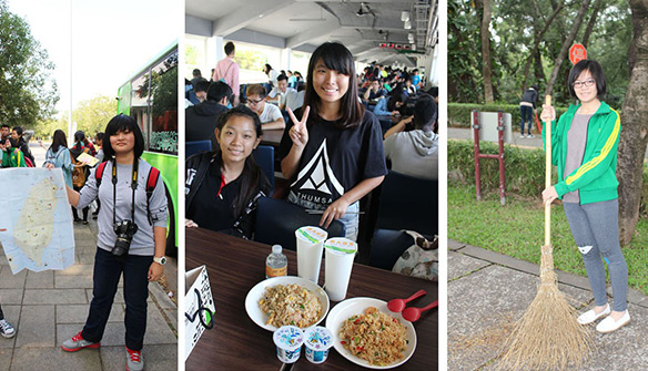 Taiwan Experience: Sin Min Private High School Visited Tunghai University