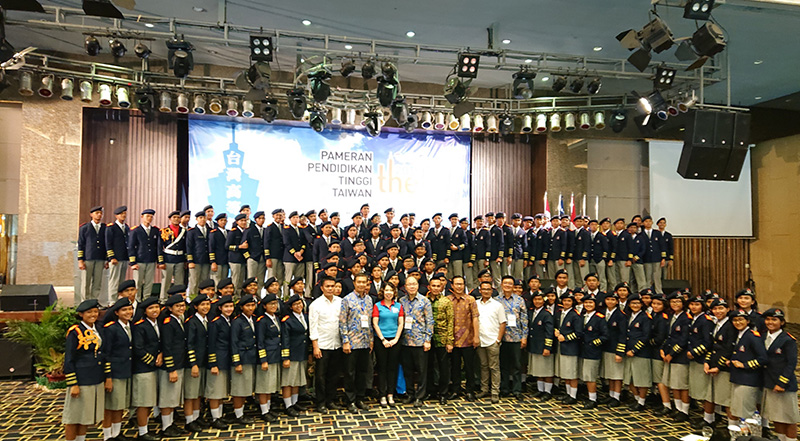 Grand opening of the 2018 Indonesia Taiwan Higher Education Expo