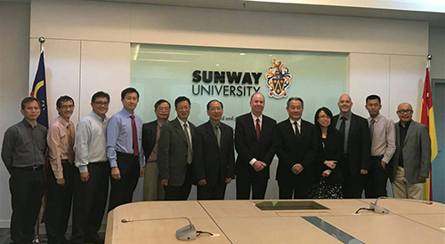 President Mao-Juin Wang visits Malaysia for international exchange