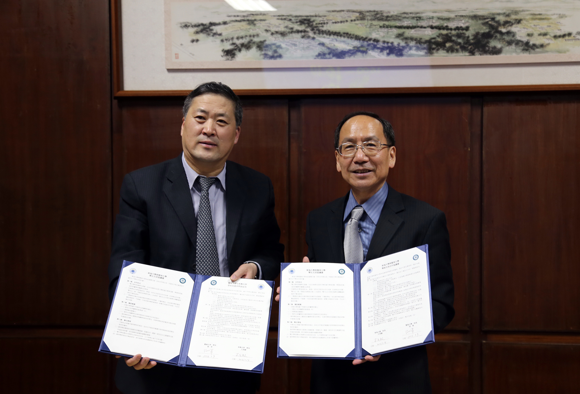 THU Signed Academic Collaboration Agreement with Jinan University