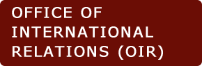 Office of International Relations (OIR)