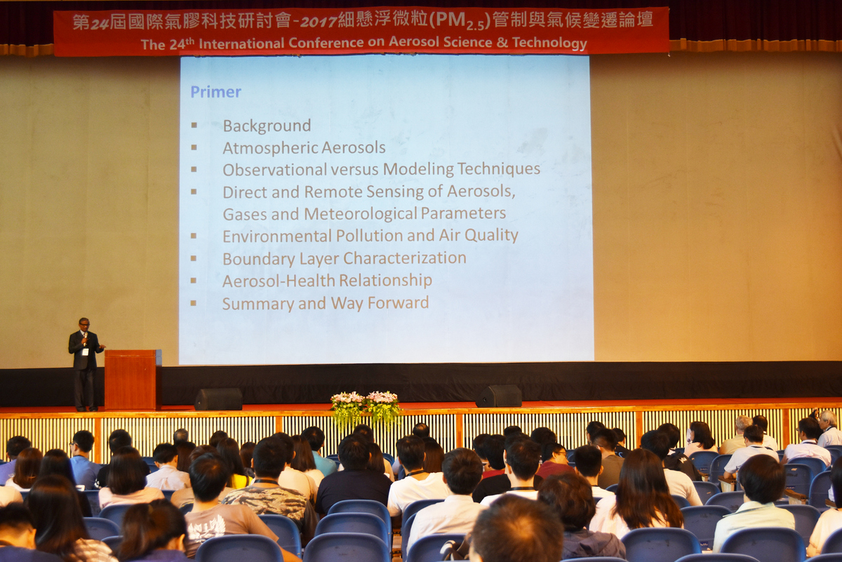 The 24th International Conference on Aerosol Science and Technology held in Tunghai University