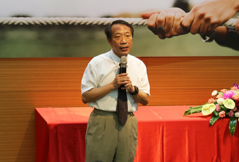 President Chuan-Yi Tang of Providence University