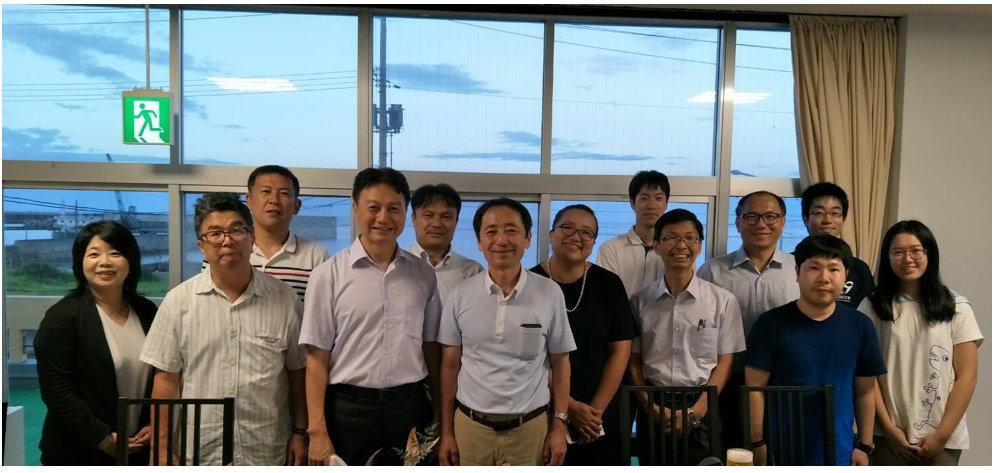 Teachers and students of Tottori University