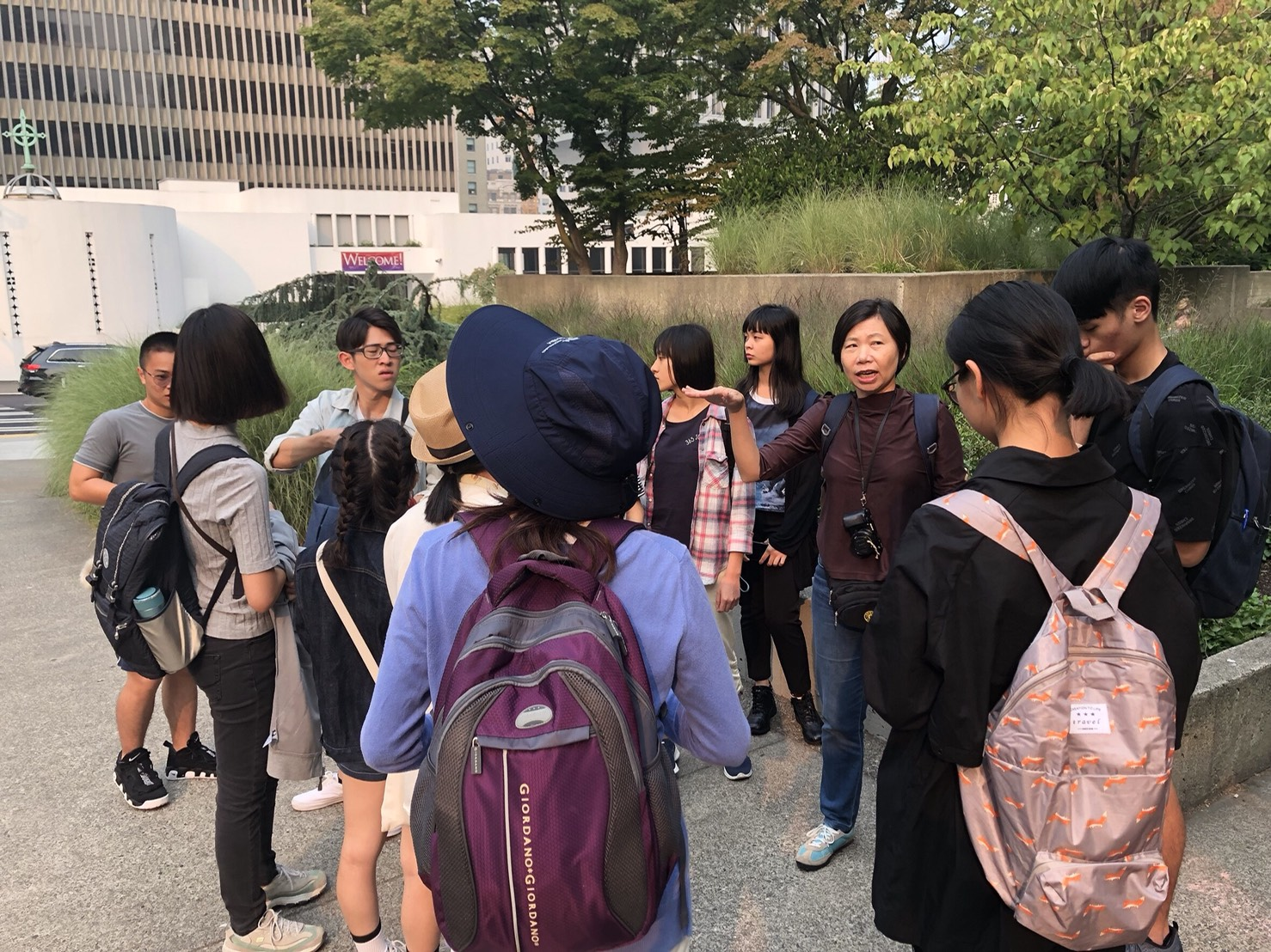The Department of Landscape Architecture of Tunghai University has been organizing overseas study trips for 8 years since 2011.