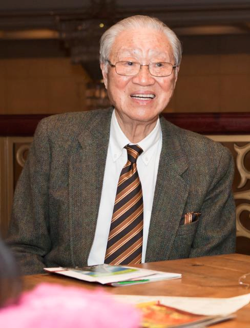Pastor Lien-Hua, former chairman of Tunghai University