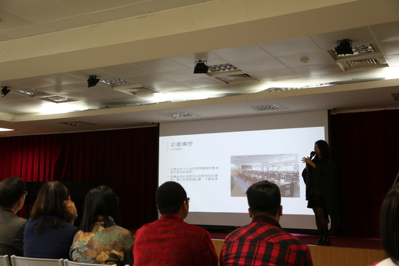 Tunghai University students present suggestions for improvements