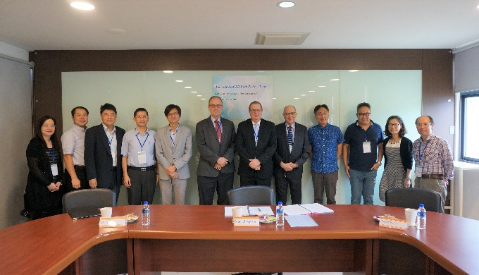 Tunghai University managerial staff and AACSB Peer Review Team ,November 13, 2017