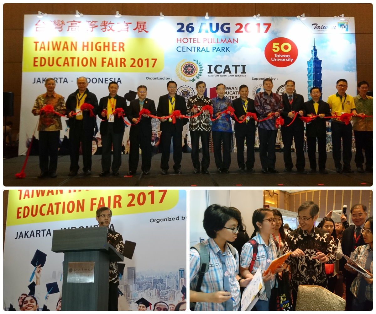 Grand opening of the 2017 Indonesia Taiwan Higher Education Expo, Jakarta