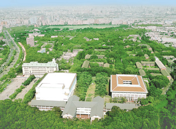 The campus of Tunghai University
