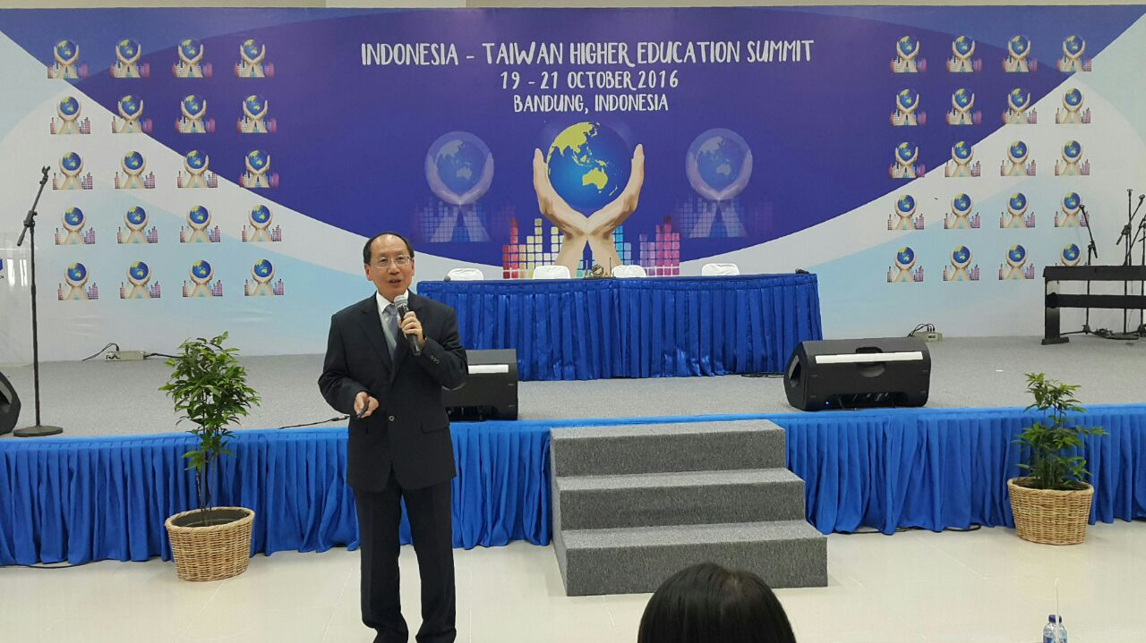 President of Tunghai University concluded the speech