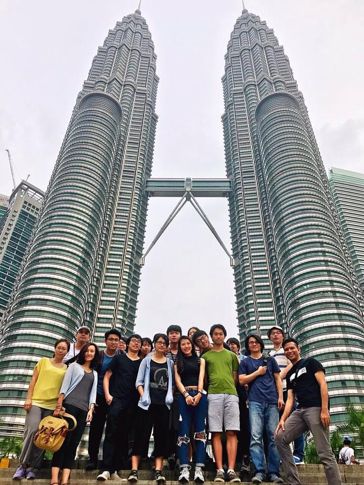 Besides the annual summer overseas education workshop regularly held in Rome, the collaborative course with Malaysia UTAR opens a window towards Asia.