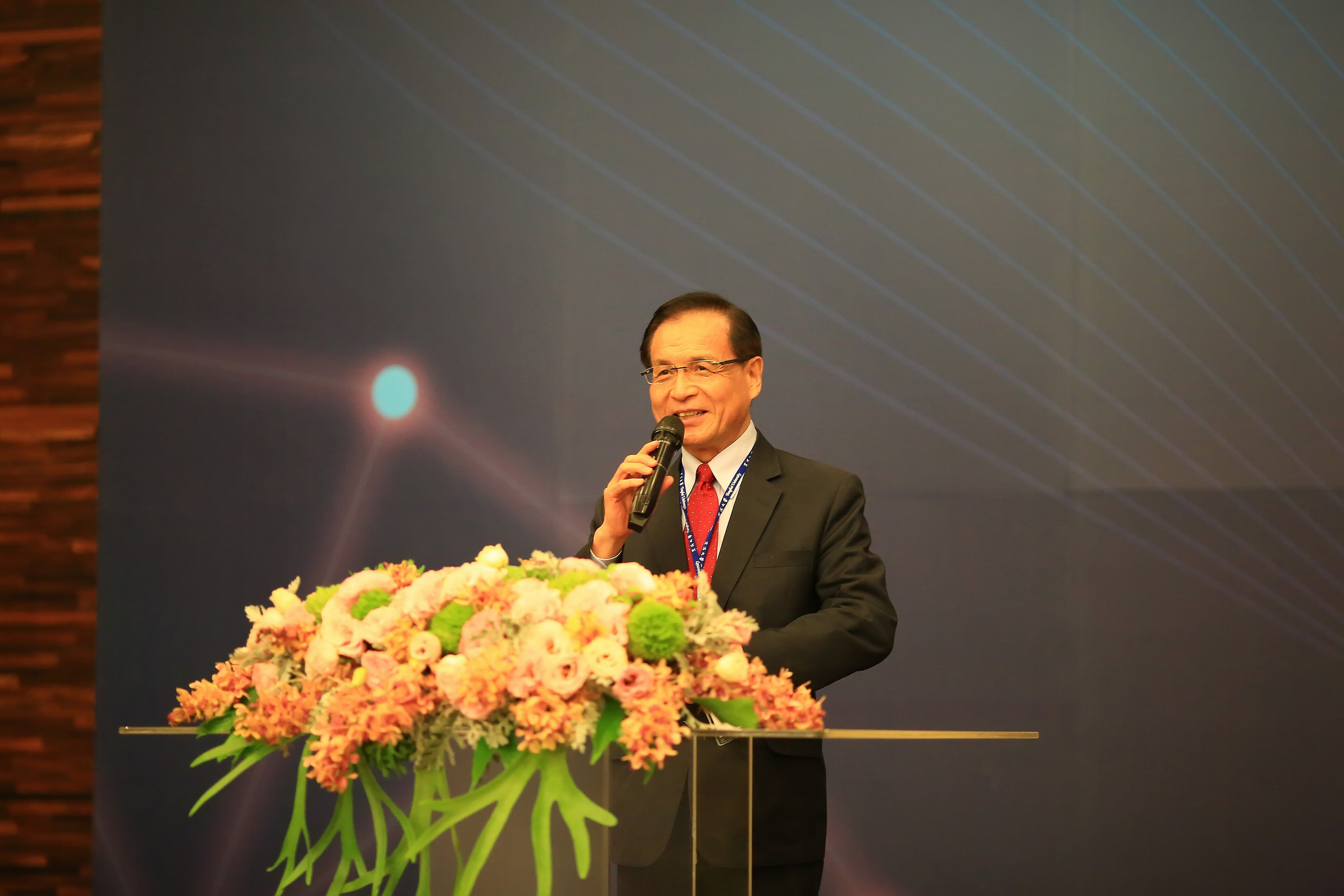 Chairman Tain-Tsair Hsu of Commerce Development Research Institute