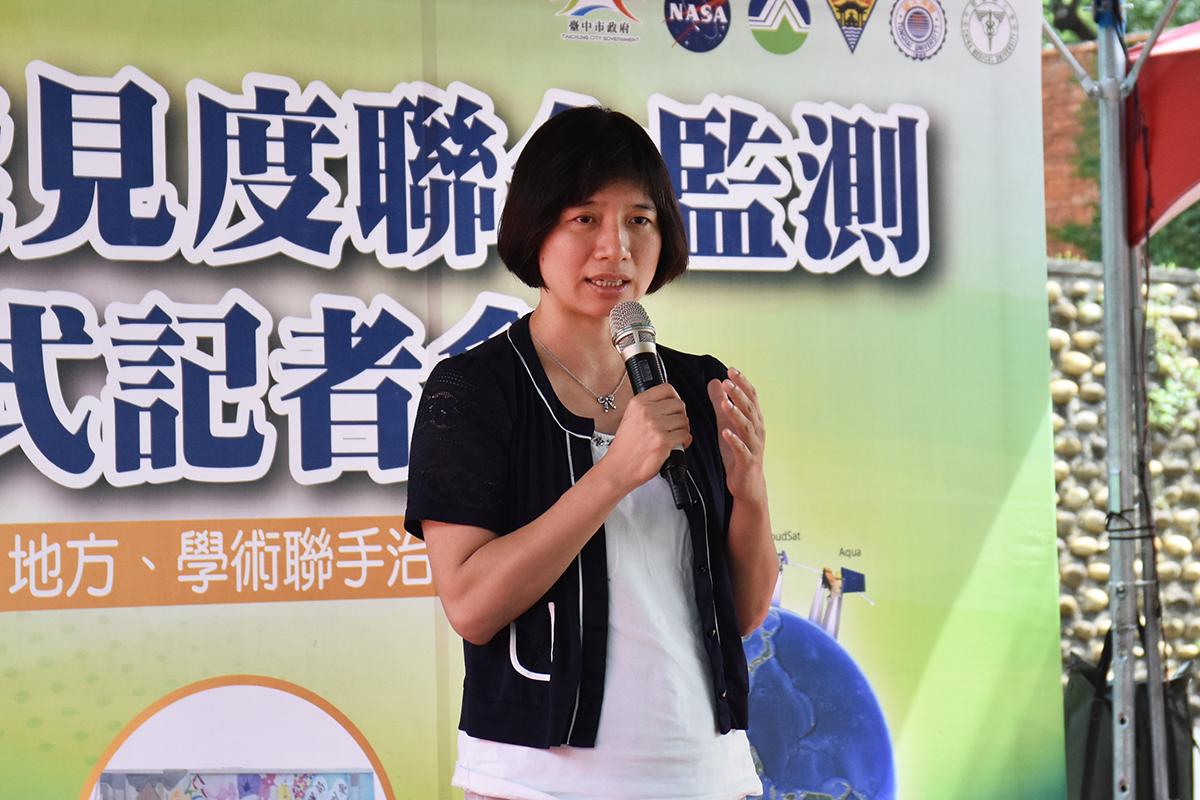 Taichung's Deputy Mayor Yi-Ying Lin