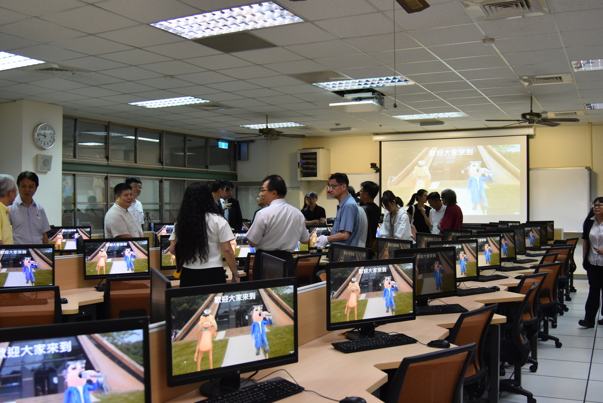 New Multidisciplinary Computer Classroom and VR/AR Experience Area