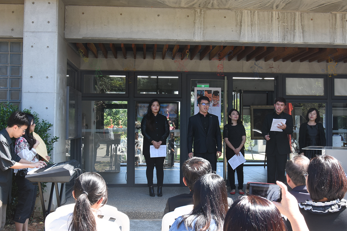 Tunghai University Opera gave a vocal music performance