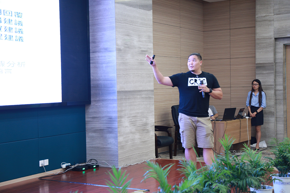 """Tunghai's CRIS team proposed a highly creative and competitive project, the """"Smart Dynamic Processing System"""" that aims to raise industrial efficiency and has already been implemented in the current manufacturing environment in Taiwan."""