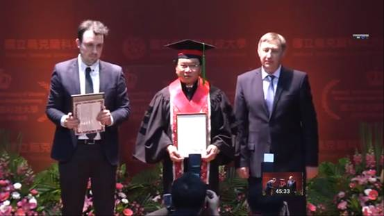 Outstanding Alumnus Awarded Honorary Doctorate By National Technical University of Ukraine