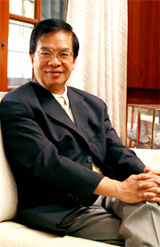 Dr. Kang-Pei Wang became the sixth President