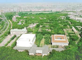 The campus of Tunghai University