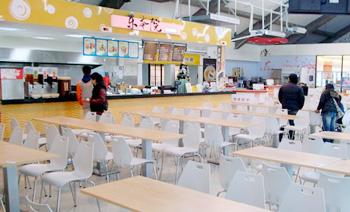 On campus Cafeterias