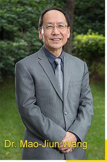 The photo of president Mao-Jiun J. Wang